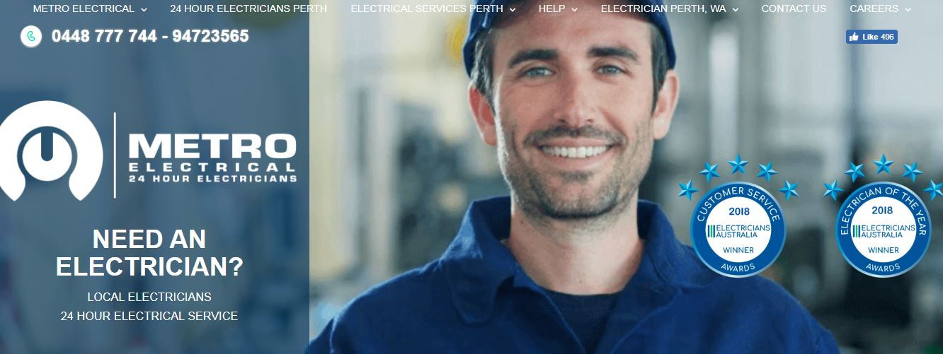 Metro Electrical 24 Hour Electricians' Homepage