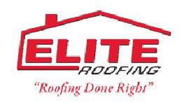 Elite Roofing's Logo