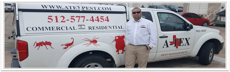 A-Tex Pest Management's Vehicle