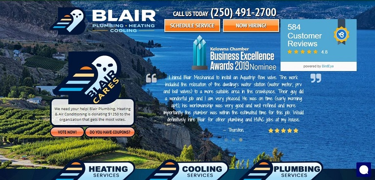 Blair Mechanical's Homepage