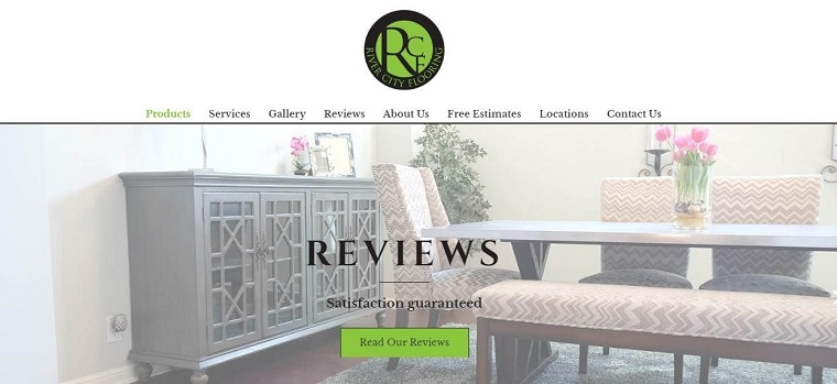 River City Flooring's Homepage