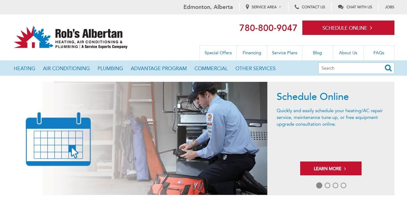 Rob's Albertan Service Experts' Homepage