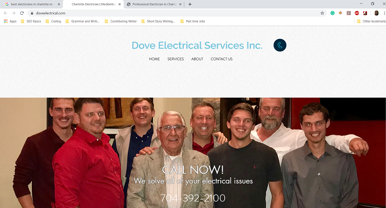 Dove Electrical Services Inc's Homepage