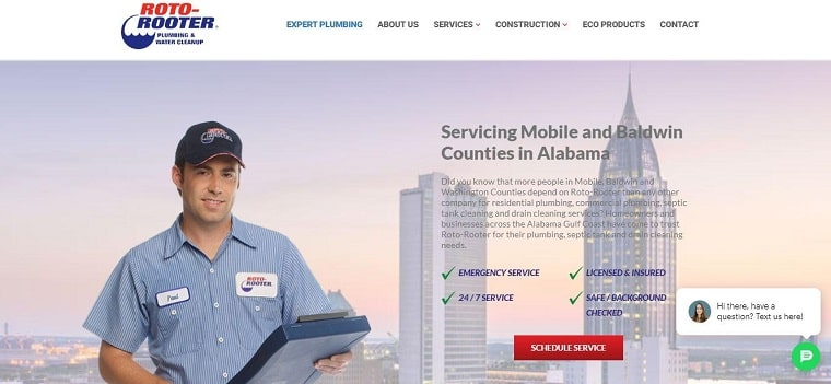 Roto-Rooter – Mobile's Homepage