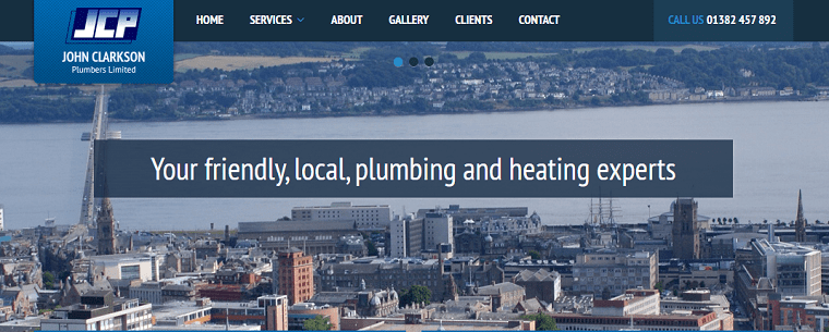 Jack Clarkson Plumbers Limited's Homepage
