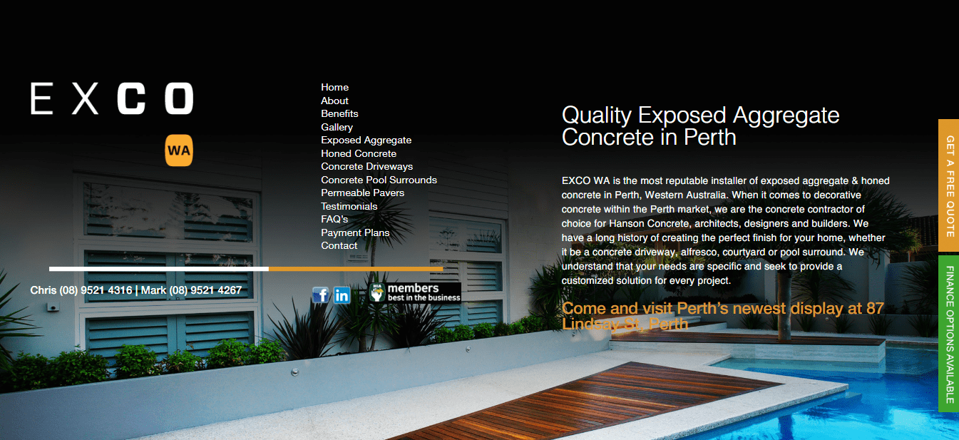 Concrete Contractors Perth 1