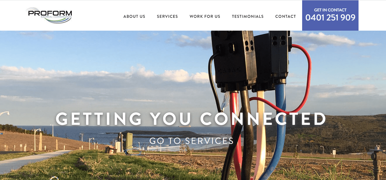 Proform Electrical & Communications' Homepage