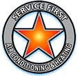 Service First AC Repair & Heating's Logo