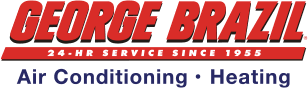 George Brazil Air Conditioning & Heating's Logo