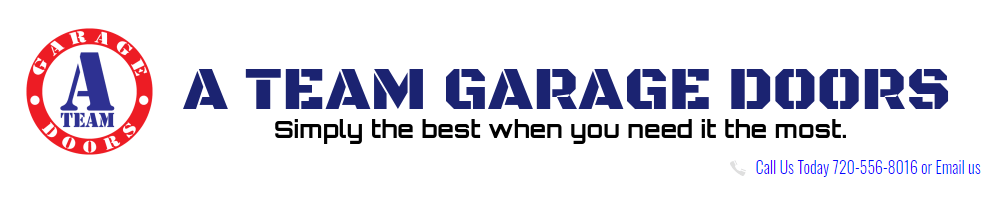 A Team Garage Doors' Logo