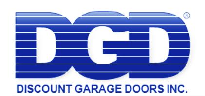 Discount Garage Doors Inc.'s Logo