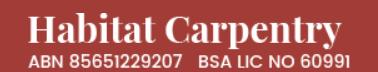 Habitat Carpentry's Logo