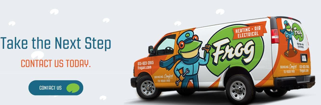 Frog Heating, Air & Electrical's Homepage