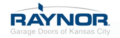 Raynor Garage Doors of Kansas City's Logo
