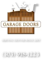 A&J Garage Doors' Logo