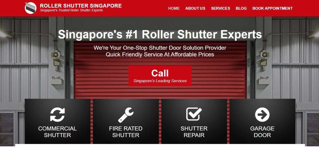 Roller Shutter Singapore's Homepage