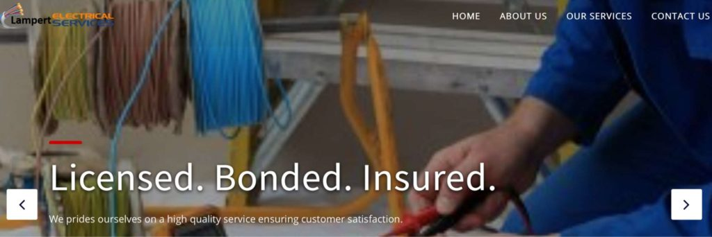 Lampert Electrical Services' Homepage